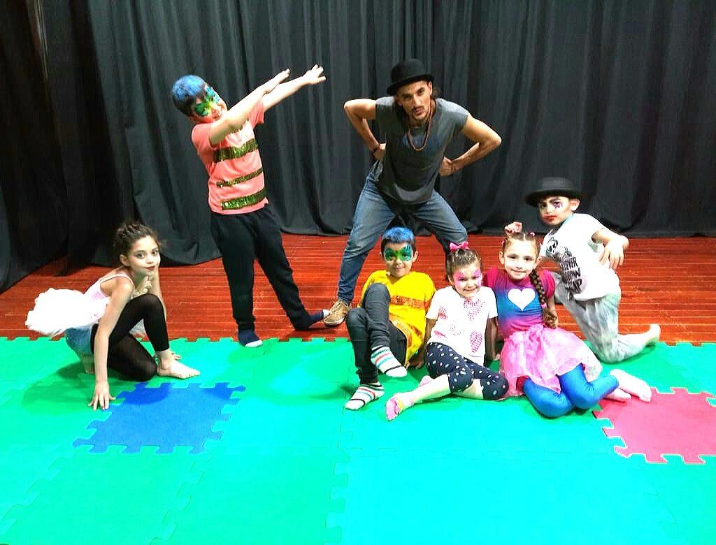 taller de circo y acrobacias niños