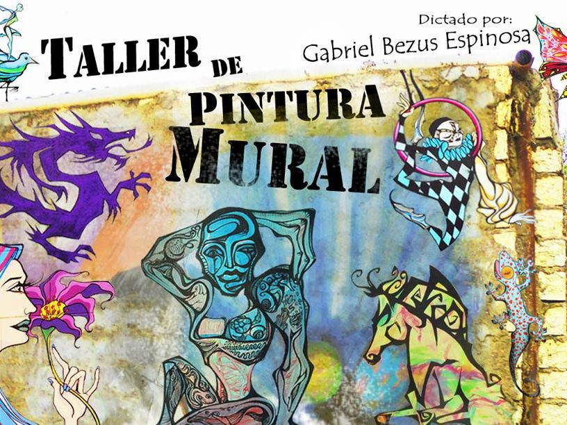 Taller De Dibujo Y Pintura, Orientado A La Pintura Mural Para Adolescentes Y Adultos