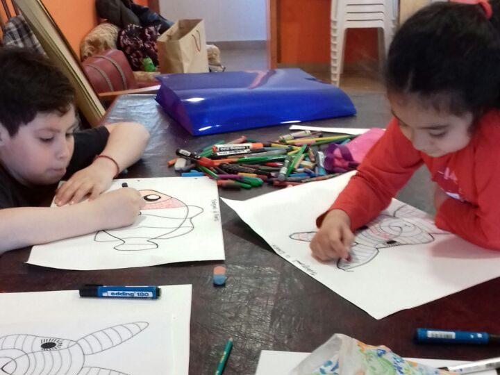 Taller De Dibujo Y Pintura Niños De 5 A 11 Años